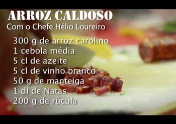 """AMI – """"SOS POBREZA – RECEITA ARROZ CALDOSO"""""""