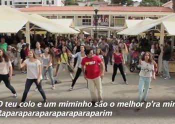 """MOVIMENTO DOS AFETOS – """"FLASHMOB – MERCADO DE CASCAIS"""""""