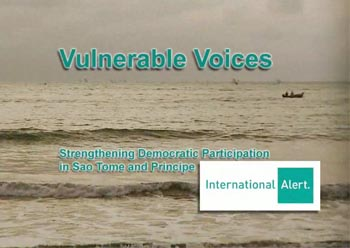 "International Alert  – ""VULNERABLE VOICES"""
