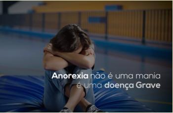 A anorexia não é uma mania
