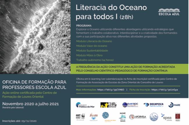 literacia do oceano descrição